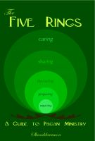 Cover for 'The Five Rings: A Guide to Pagan Ministry'