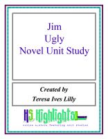 Cover for 'Jim Ugly Novel Unit Study'