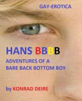 Cover for 'HANS BBBB (adventures of a bare back bottom boy)'