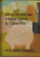Cover for 'GOP vs. Hurricane Isaac: A National Disgrace'