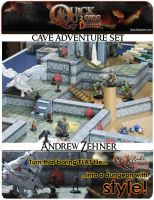 Cover for 'PRINTABLE 3D Dungeon Tiles - Master DM set - for Dungeons and Dragons, D&D, Gurps, Warhammer, or other RPG'