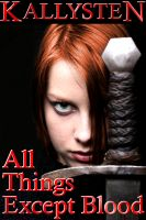 Cover for 'All Things Except Blood'