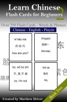 Cover for 'Learn Chinese: Flash Cards for Beginners. Book 2'