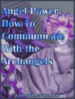 Cover for 'Angel Power: How To Communicate With the Archangels'