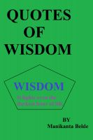 Cover for 'Quotes Of Wisdom'