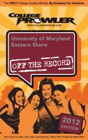 Cover for 'University of Maryland Eastern Shore 2012'
