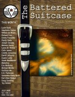 Cover for 'The Battered Suitcase July 2008'