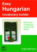 Cover for 'Easy Hungarian Vocabulary Builder'