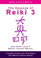 Cover for 'The Essence of Reiki 3'