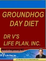 Cover for 'Groundhog Day Diet'