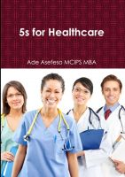 Cover for '5s for Healthcare'