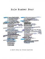Cover for 'Rule Number Four'