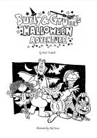 Cover for 'Burly and Grum's Halloween Adventure'