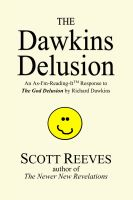 Cover for 'The Dawkins Delusion: an As-I'm-Reading-It Response to The God Delusion'