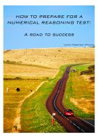 Cover for 'How to prepare for a numerical reasoning test'