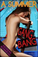 Cover for 'A Summer Gangbang'