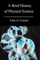 Cover for 'A Brief History of Physical Science'
