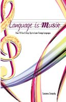 Cover for 'Language is Music'