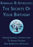 Cover for 'Kabbalah & Astrology: The Secrets Of Your Birthday'