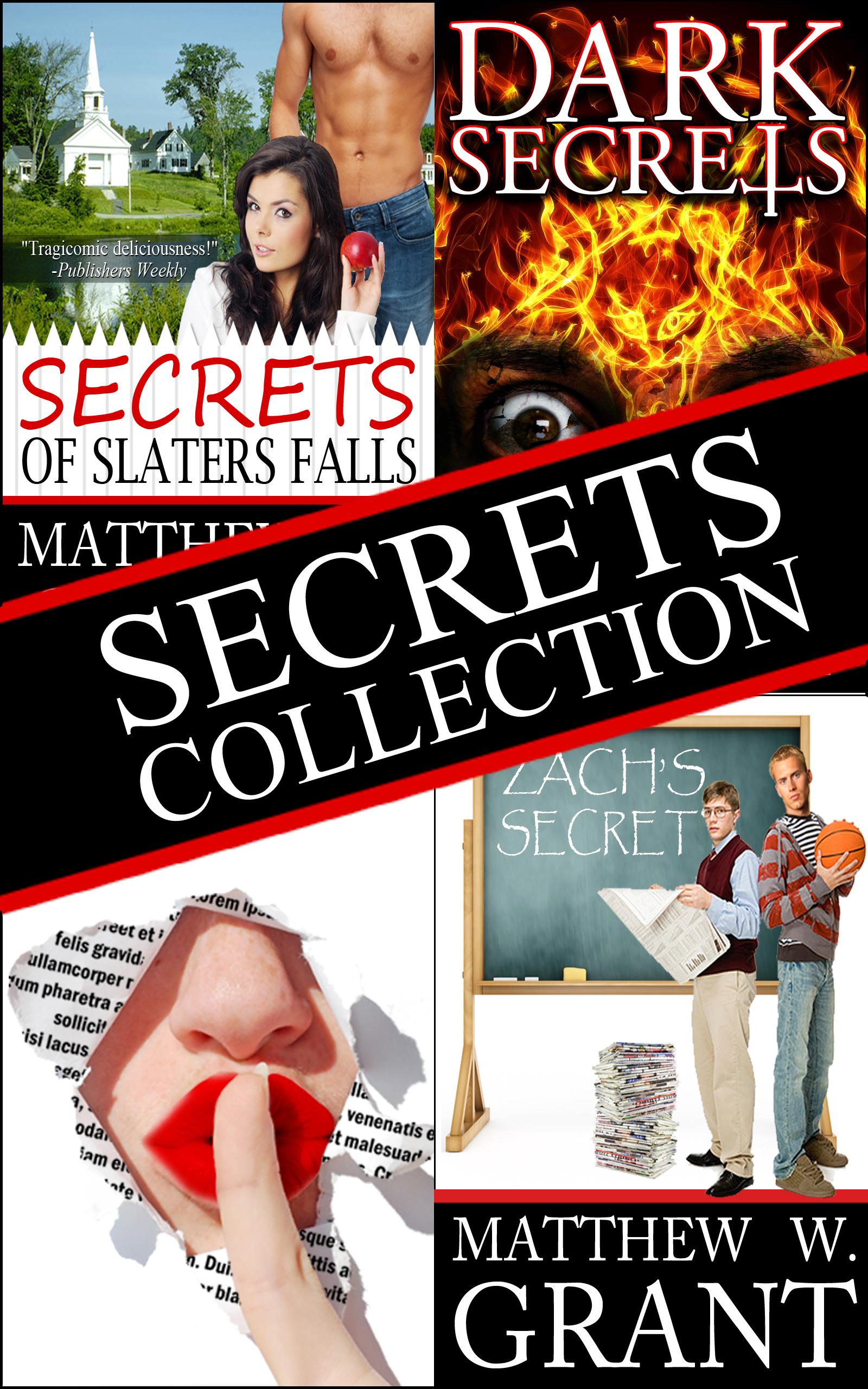 Matthew W. Grant - The Secrets Collection: 3 Novels, 3 Genres Boxed Set Bundle