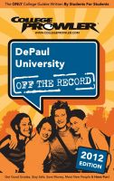 Cover for 'DePaul University 2012'