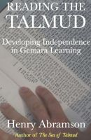 Cover for 'Reading the Talmud: Developing Independence in Gemara Learning'