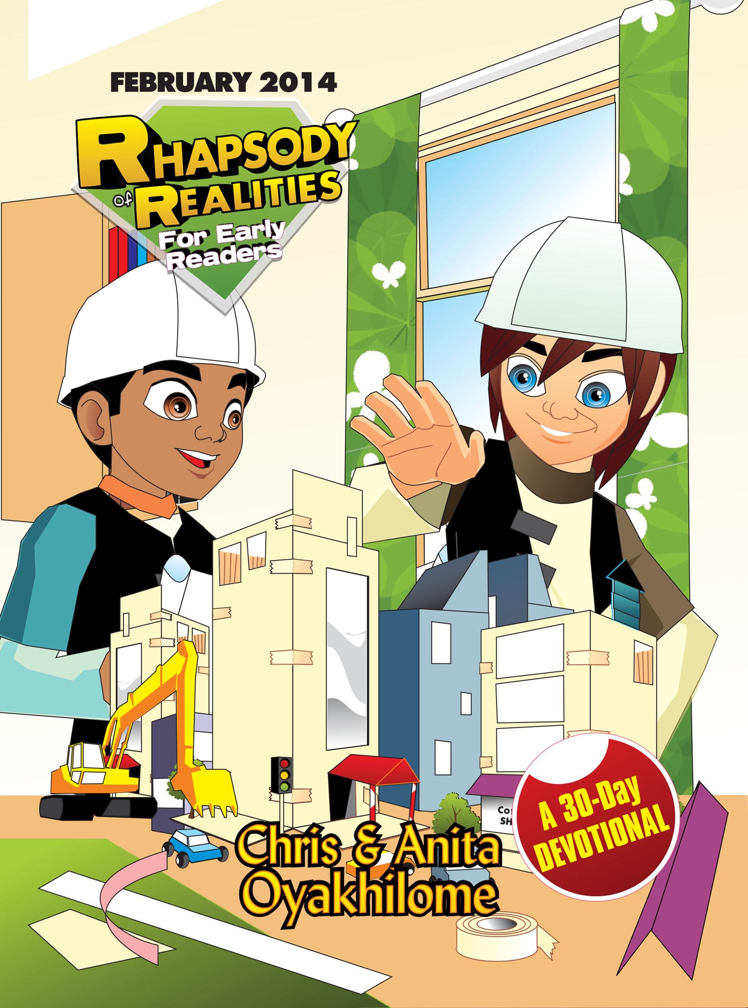 Pastor Chris and Anita Oyakhilome - Rhapsody of Realities for Early Readers – February 2014 Edition