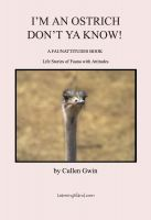 Cover for 'I Am An Ostrich, Don't You Know'
