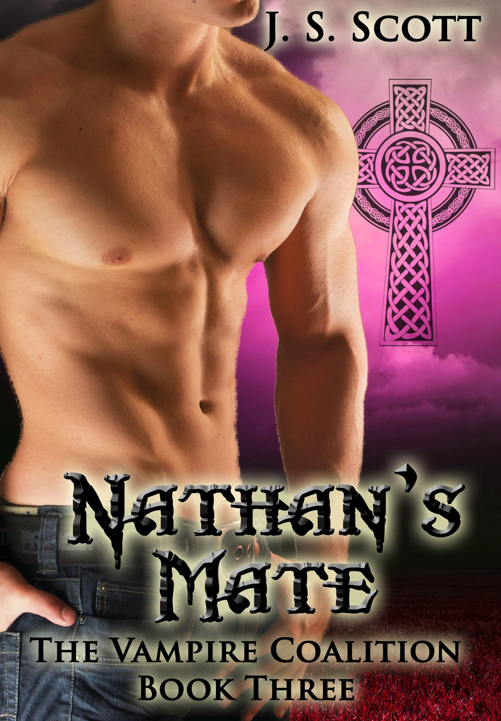 J. S. Scott - Nathan's Mate (Book Three: The Vampire Coalition)