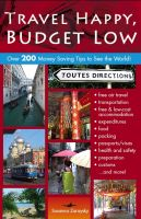 Cover for 'Travel Happy, Budget Low'
