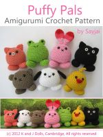 Cover for 'Puffy Pals Amigurumi Crochet Pattern'
