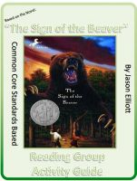 Cover for 'Sign of the Beaver By Elizabeth George Spear Reading Group Activity Guide'