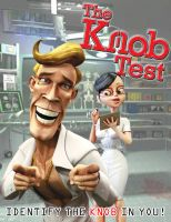 Cover for 'The Knob Test'