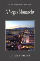 Cover for 'A Vegas Monarchy'