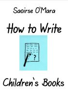 Cover for 'How to Write Children's Books'