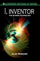 Cover for 'I, Inventor. The 3D Mind Technology'