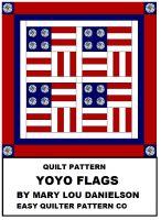 Cover for 'Quilt Pattern - Yo-Yo Flags'