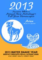 Cover for '2013 Aries - Suzanne White's Annual Horoscopes for Aries'