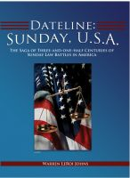 Cover for 'Dateline: Sunday, U.S.A.'