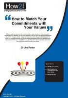 Cover for 'How to Match Your Commitments with Your Values'