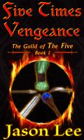 Cover for 'Five Times Vengeance'