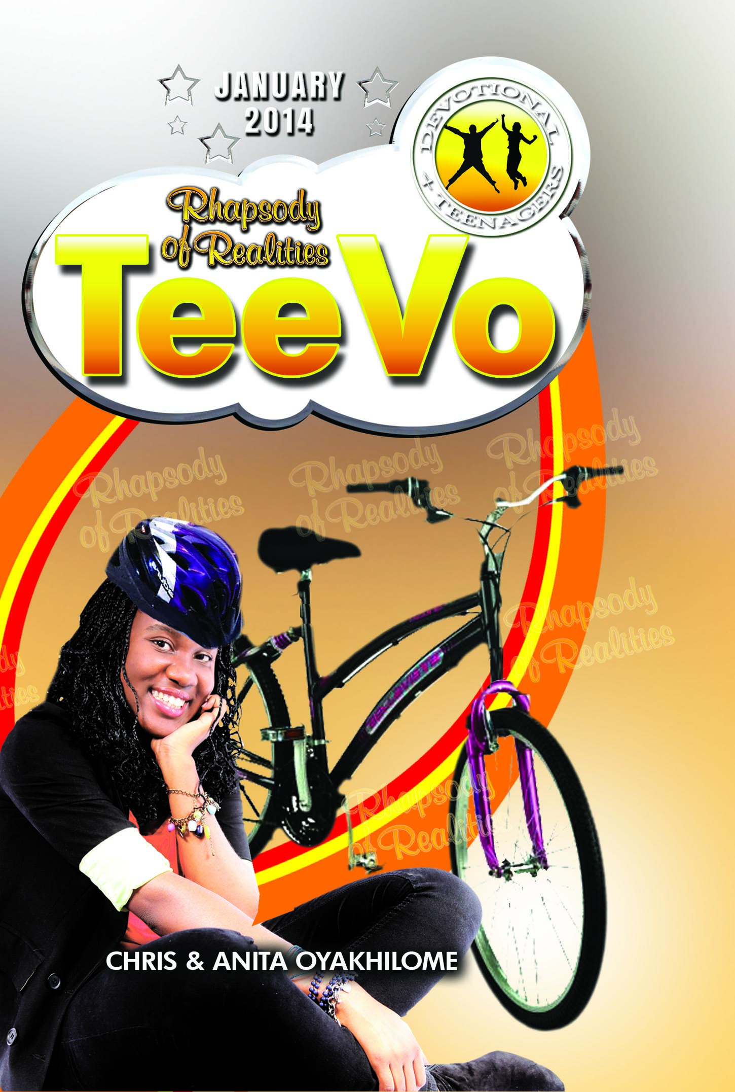 Pastor Chris and Anita Oyakhilome - Rhapsody of Realities TeeVo – January 2014 Edition