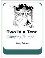 Cover for 'Two in a Tent: Camping Humor'