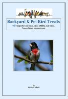 Cover for 'Backyard & Pet Bird Treats'