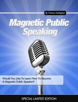 Cover for 'Magnetic Public Speaking'