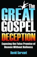 Cover for 'The Great Gospel Deception'