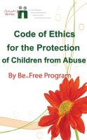 Cover for 'Code of Ethics for the Protection of Children from Abuse'