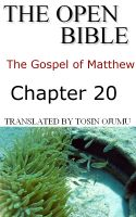 Cover for 'The Open Bible - The Gospel of Matthew: Chapter 20'