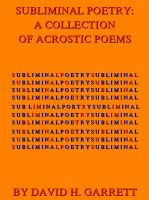 Cover for 'Subliminal Poetry: A Collection of Acrostic Poems'
