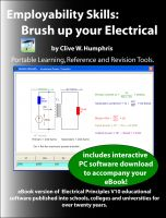 Cover for 'Employability Skills: Brush up your Electrical'